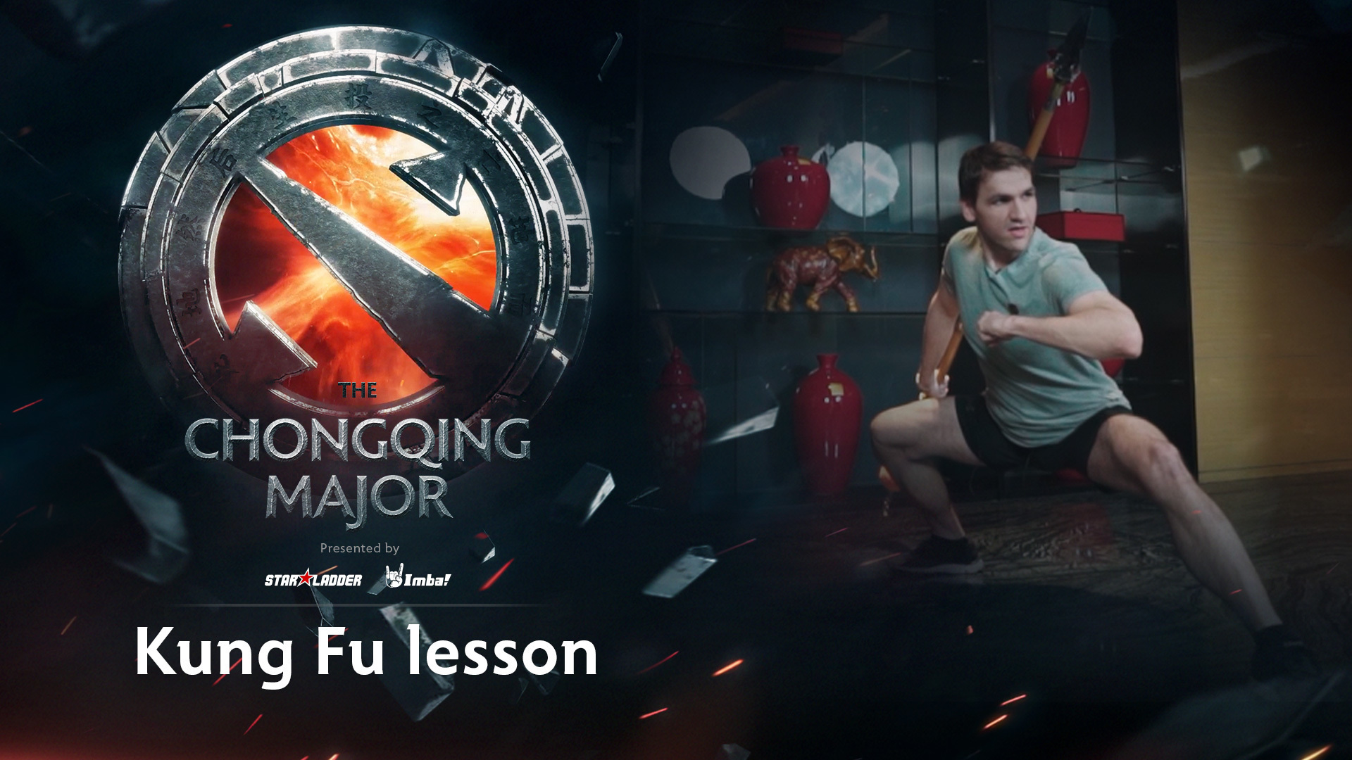 The Chongqing Major: Kung Fu lesson