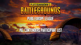 Participant list of PUBG Europe League Contenders is complete