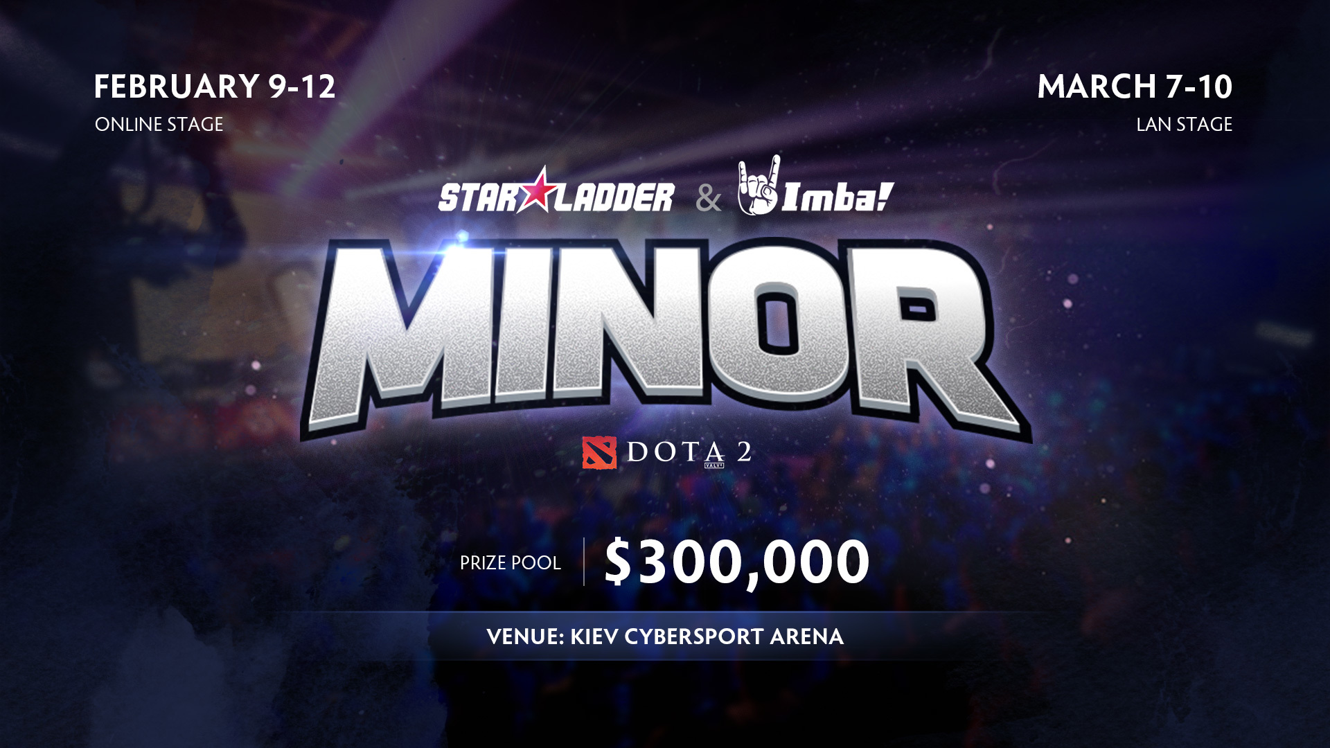 Kiev to host StarLadder ImbaTV Dota 2 Minor