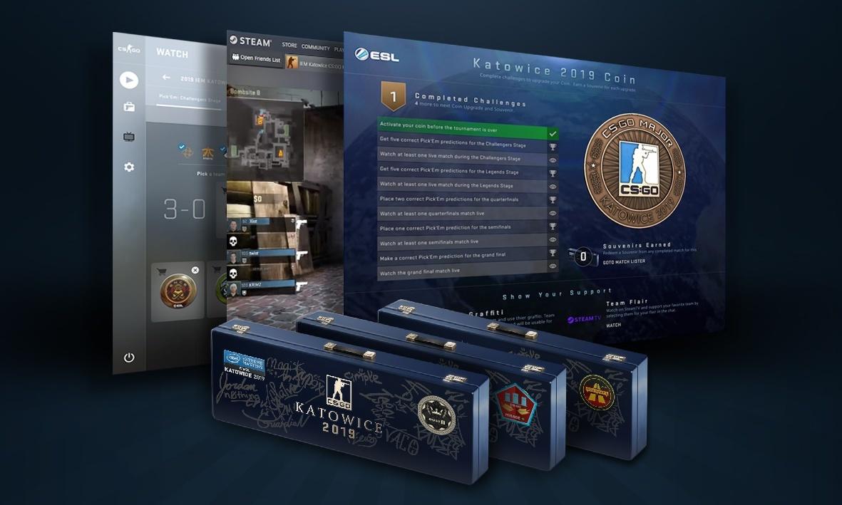 Valve introduce Viewer Pass for IEM Katowice Major