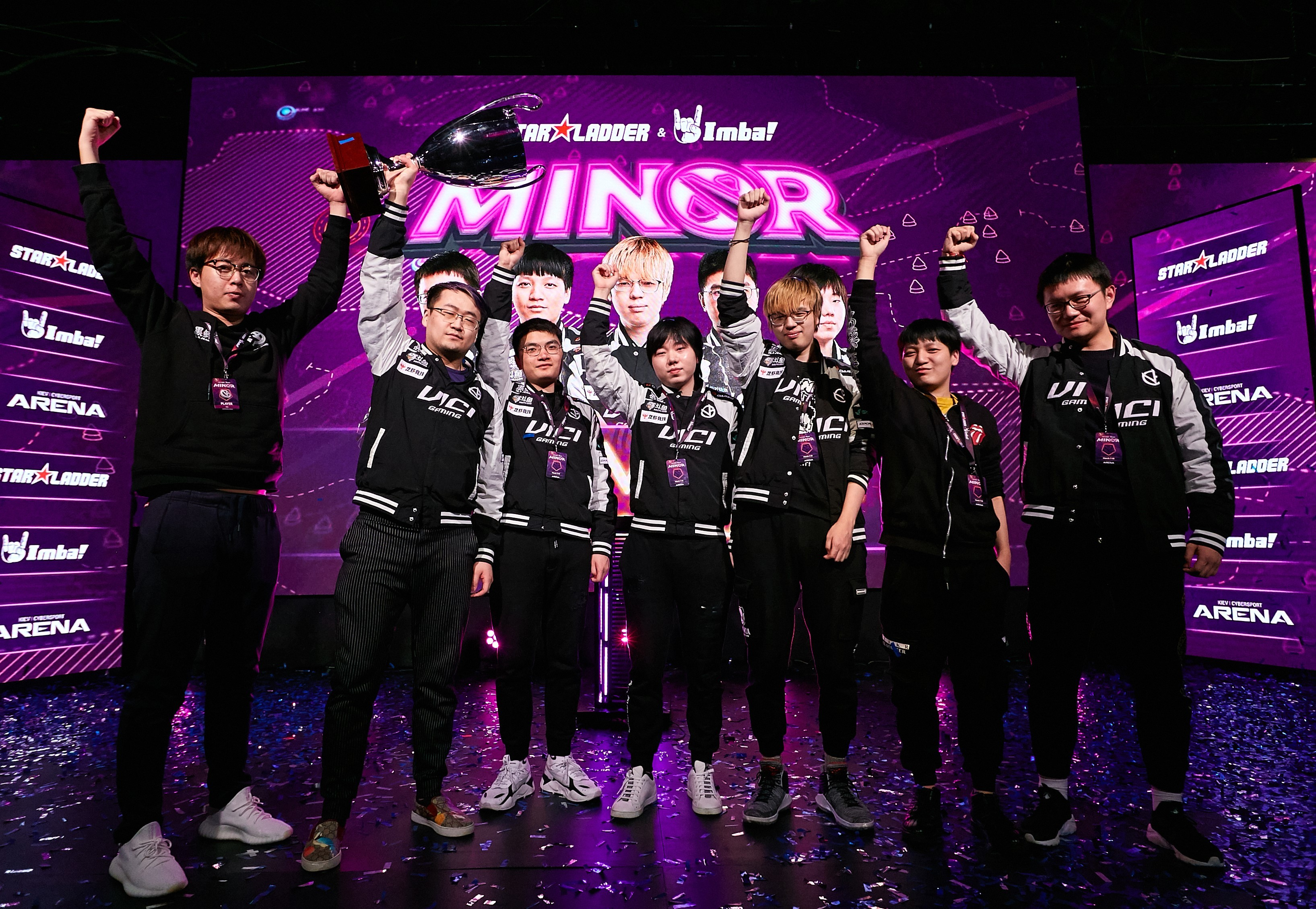 Vici Gaming - the champions of StarLadder ImbaTV Dota 2 Minor