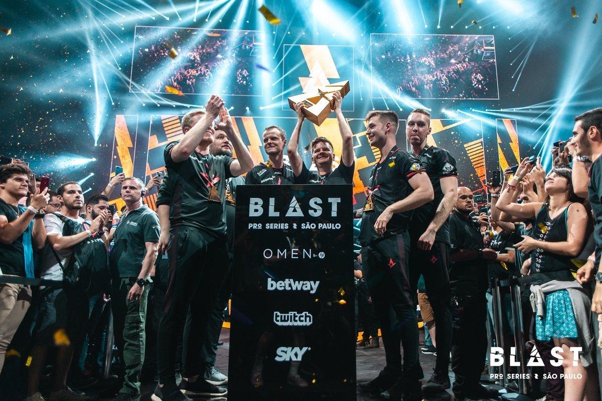 Astralis стала чемпионом BLAST Pro Series: São Paulo