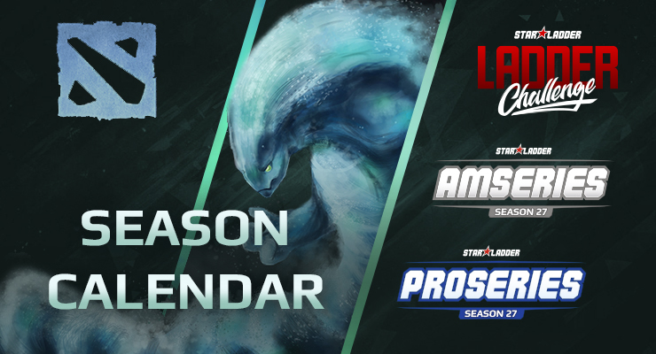 Dota2 StarLadder Tournament Schedule for the 27th Season