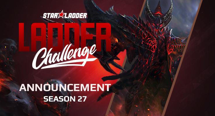 Анонс $1000 Ladder Challenge Season 27