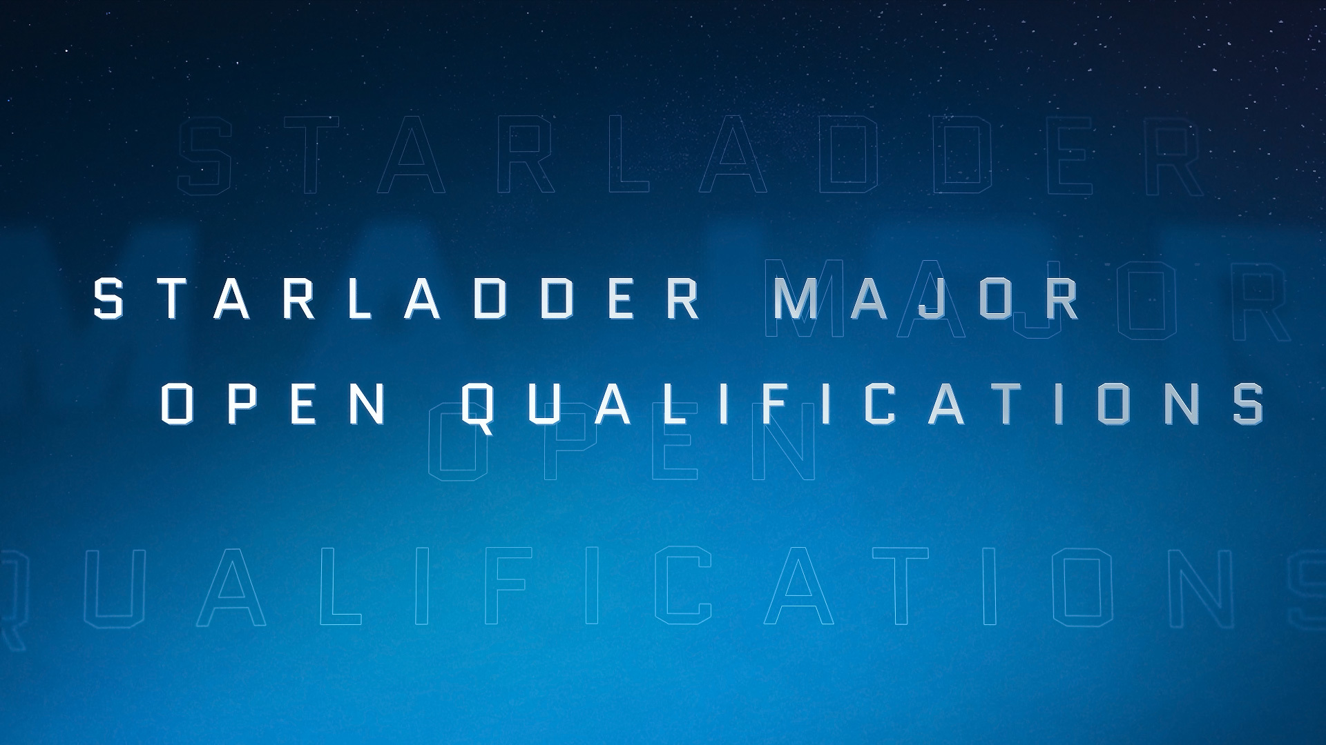 Details for StarLadder Major 2019 open qualifiers revealed