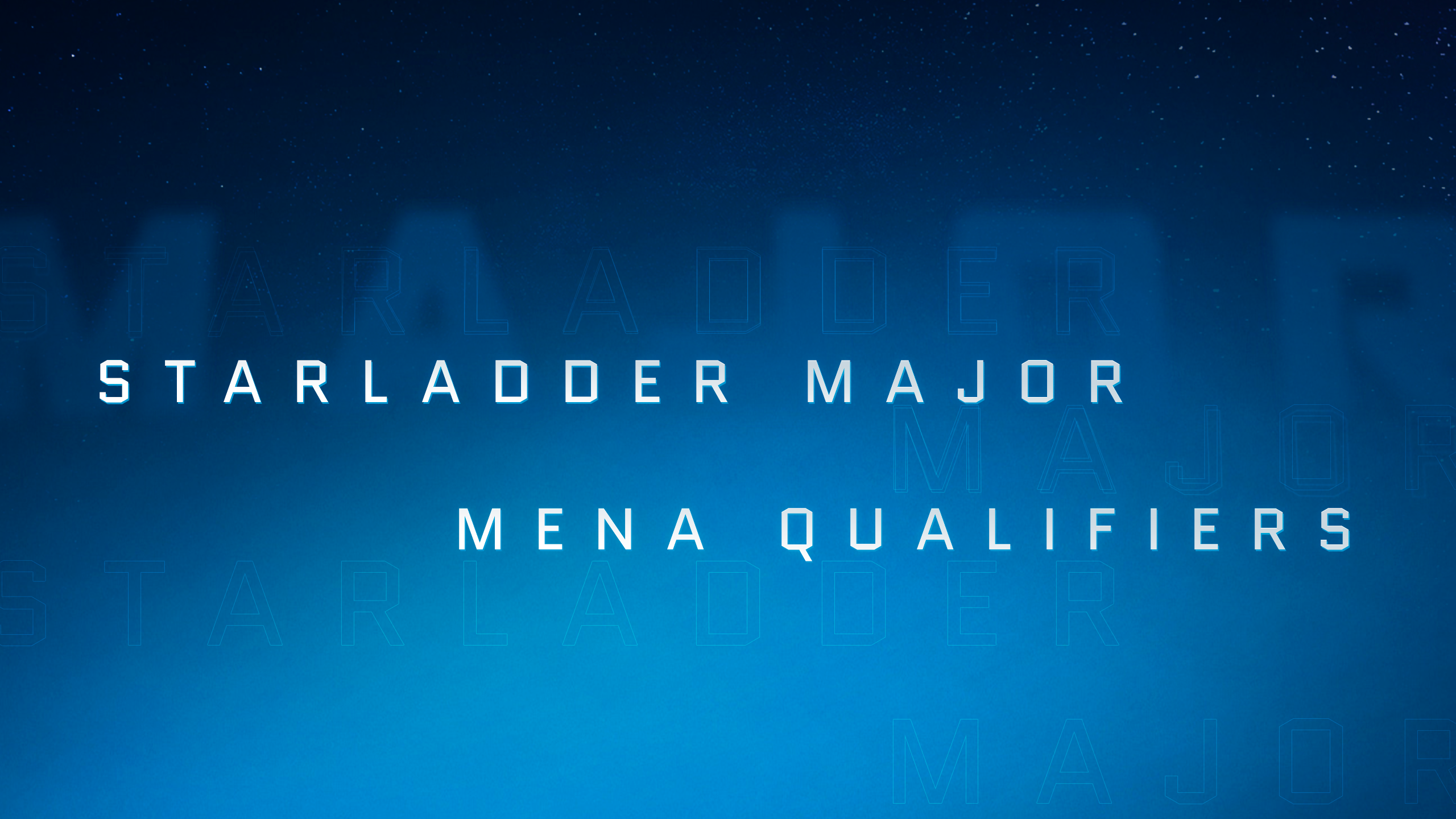 StarLadder Major: draws and schedule for Closed Qualifier in MENA