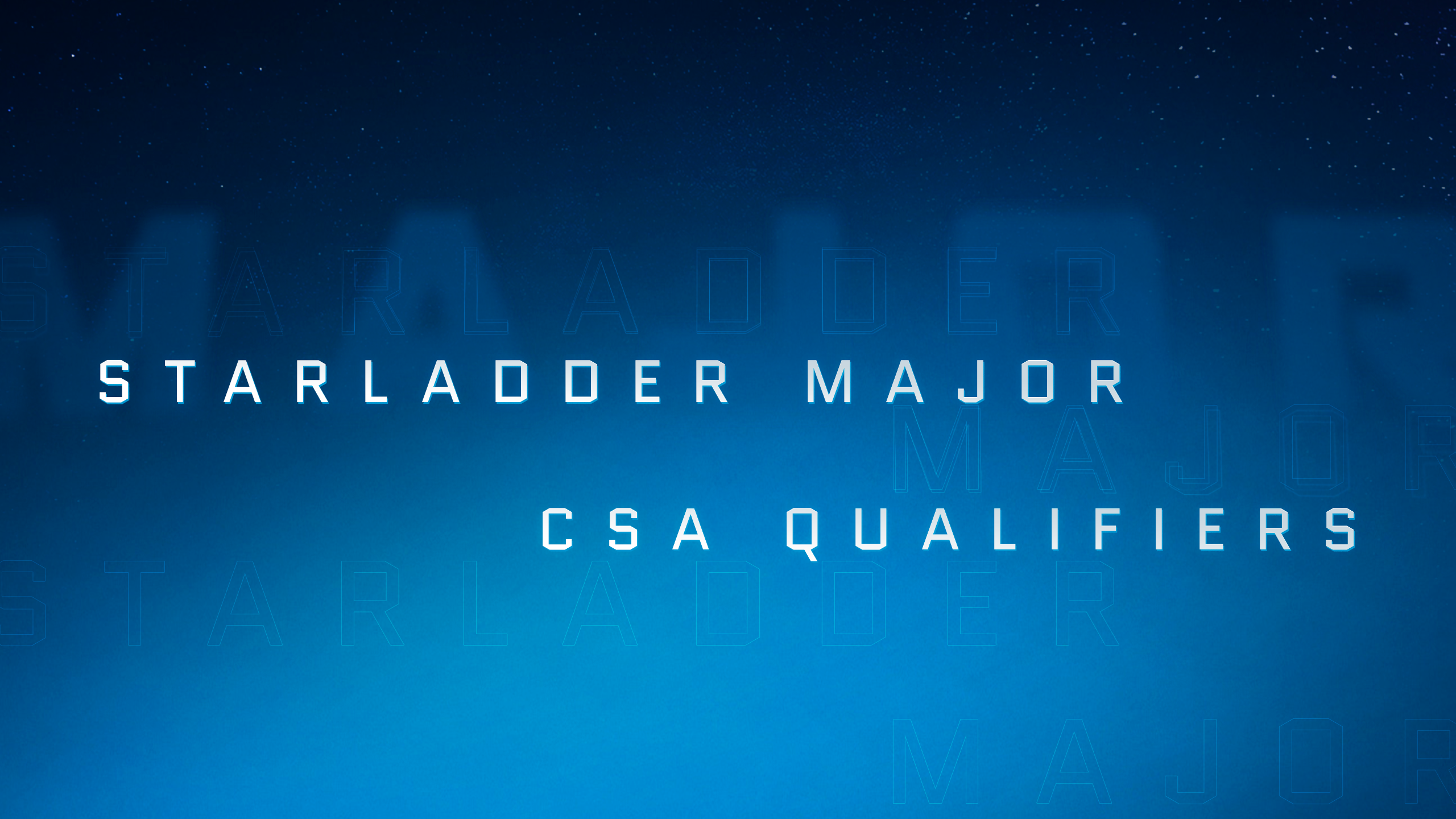 StarLadder Major: draws and schedule for Closed Qualifier in CSA