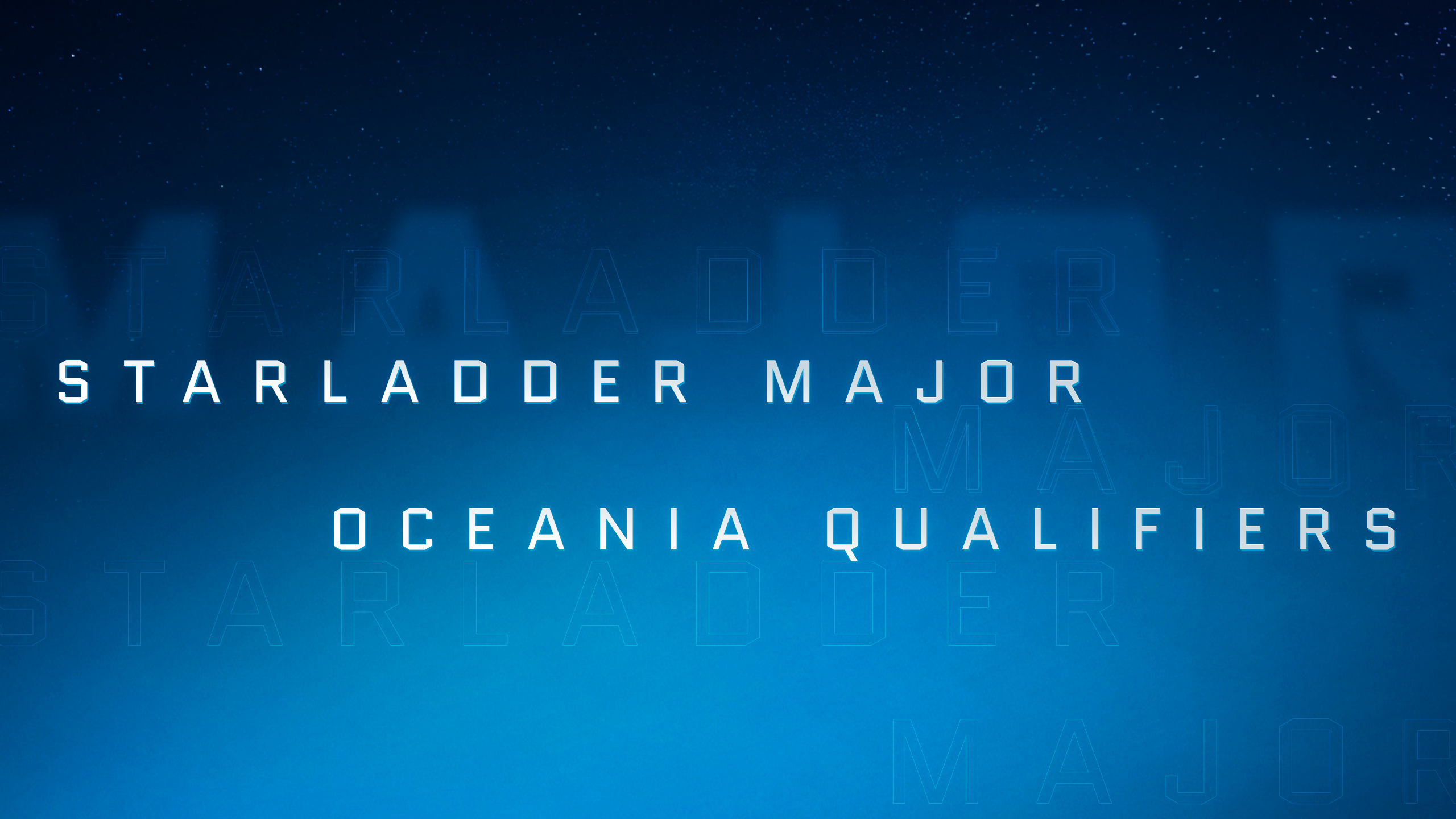 StarLadder Major: draws and schedule for Closed Qualifier in Oceania