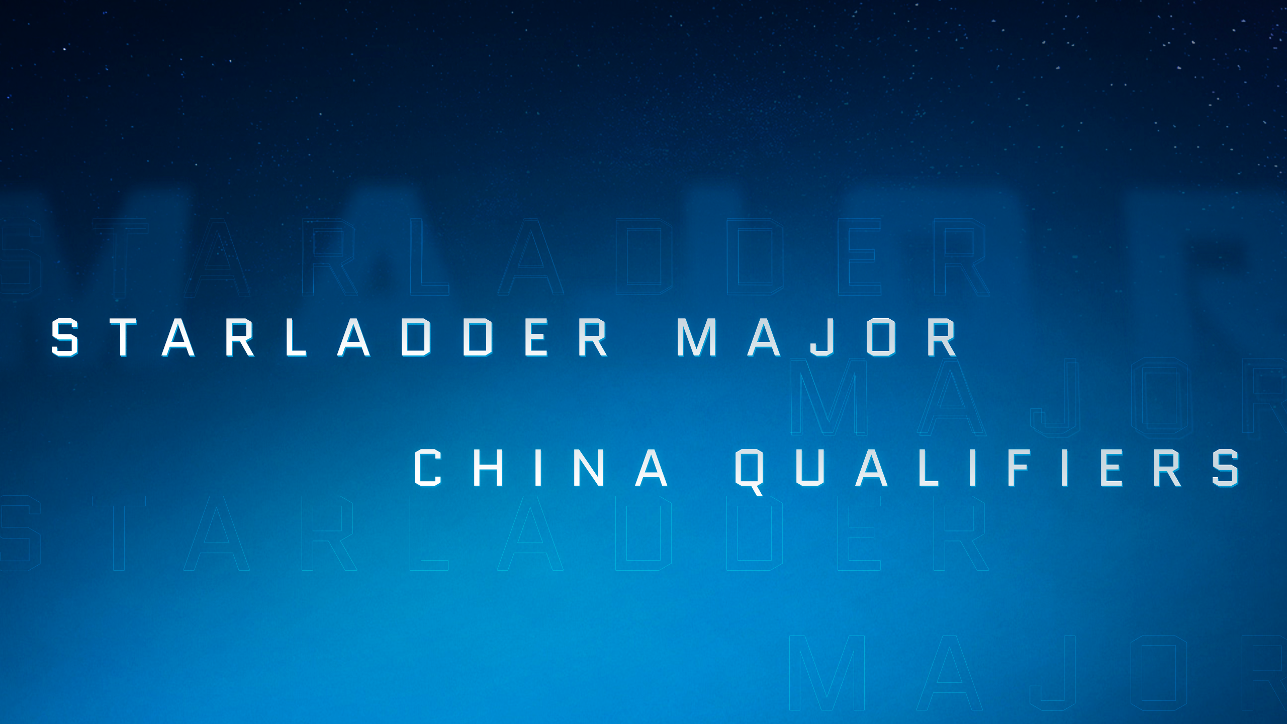 StarLadder Major: draws and schedule for Closed Qualifier in China