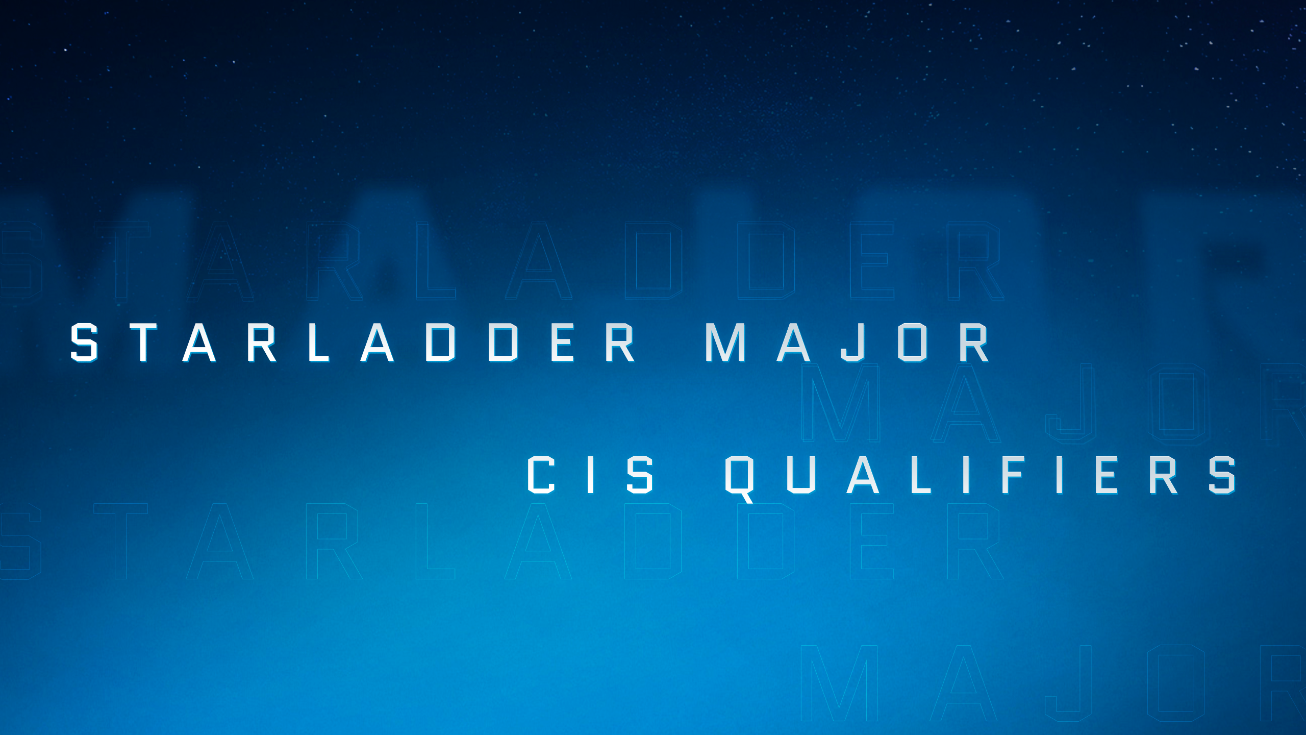 StarLadder Major: draws and schedule for Closed Qualifier in CIS