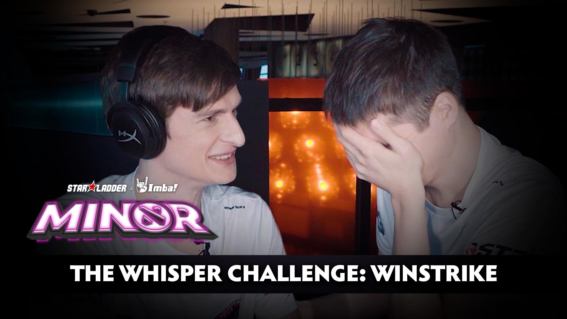 The Whisper Challenge: Winstrike