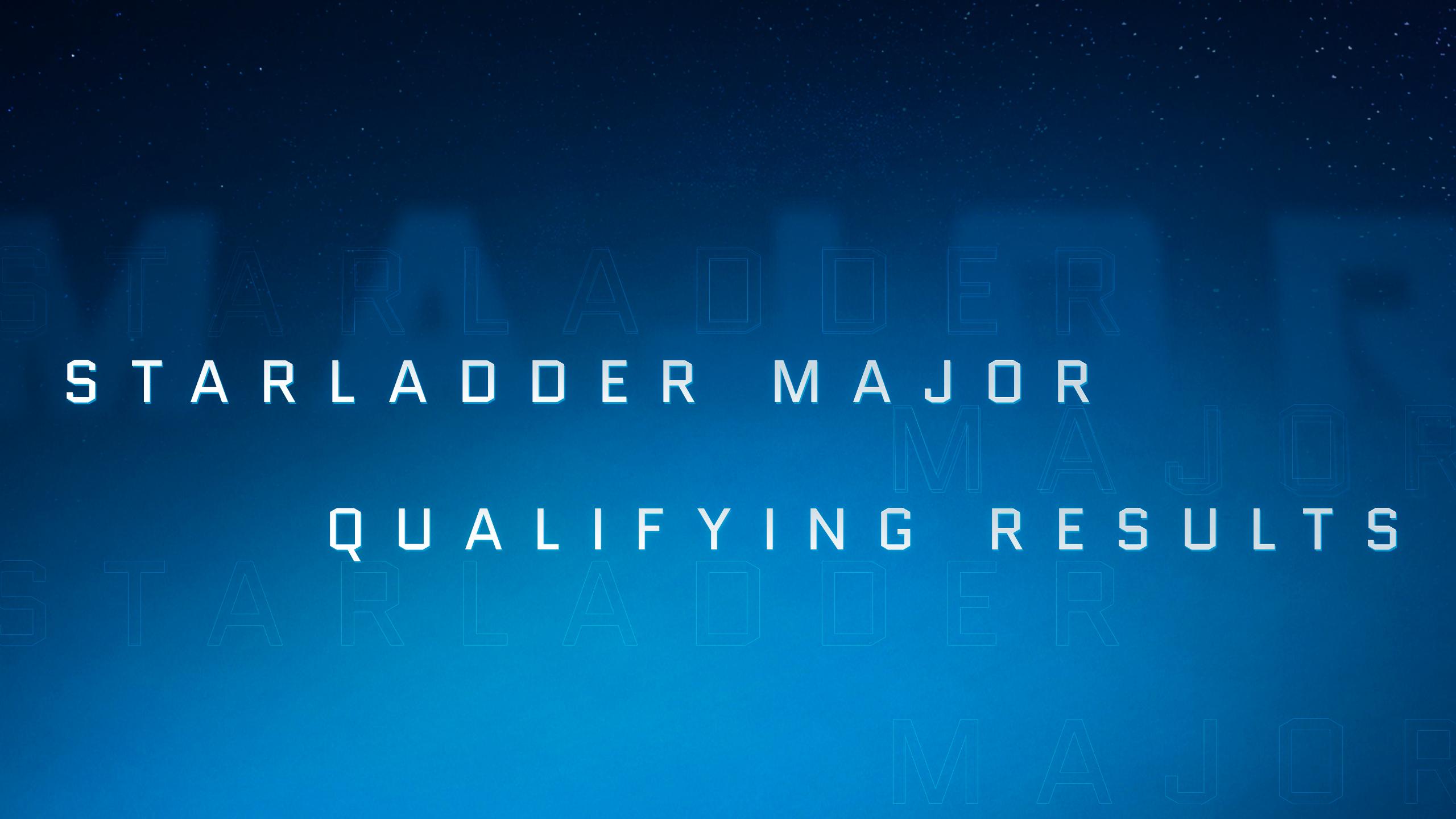 Итоги закрытых квалификаций к StarLadder Major 2019