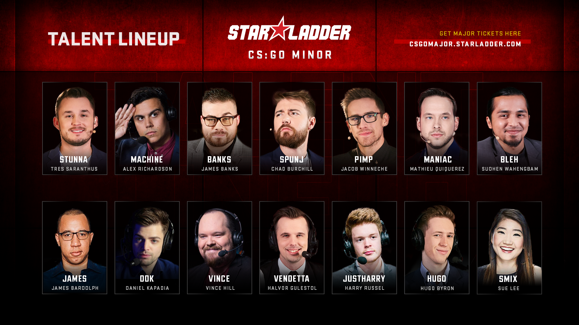 Talent Lineup for StarLadder Major Berlin 2019: CIS and Asia Minor