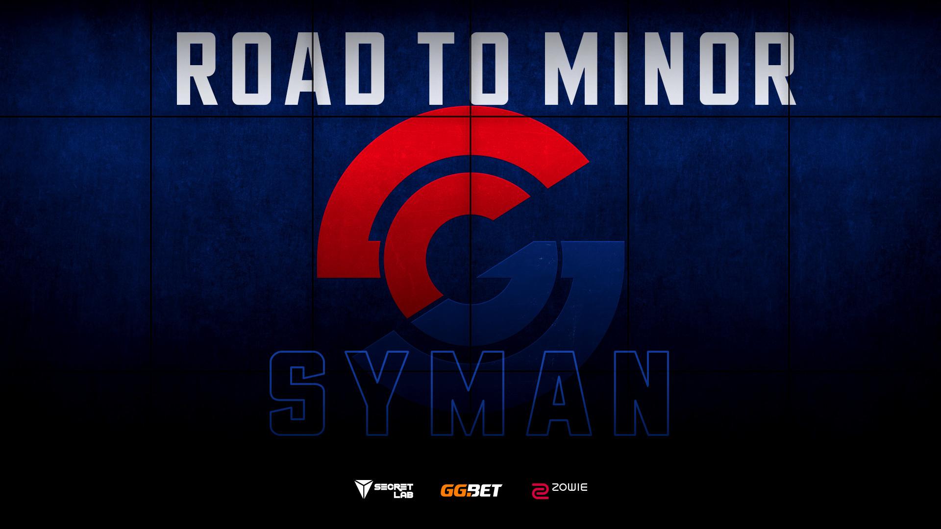 Road to #BerlinMinor2019: Syman Gaming