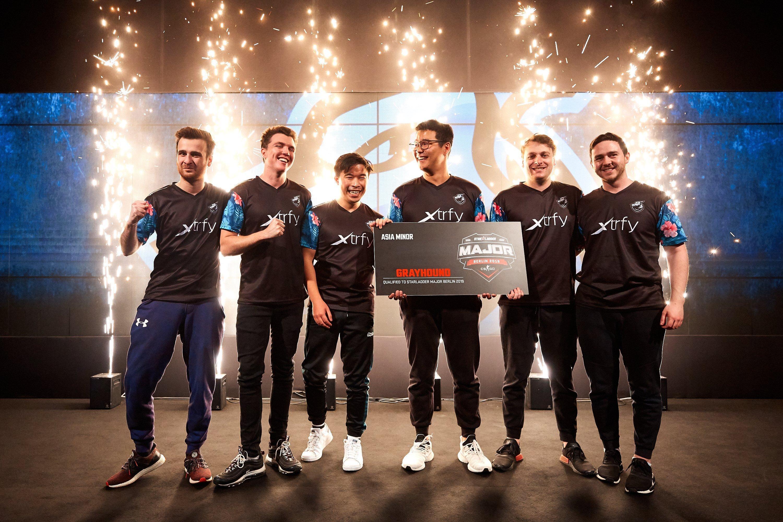 Grayhound Gaming qualifies for StarLadder Major Berlin 2019