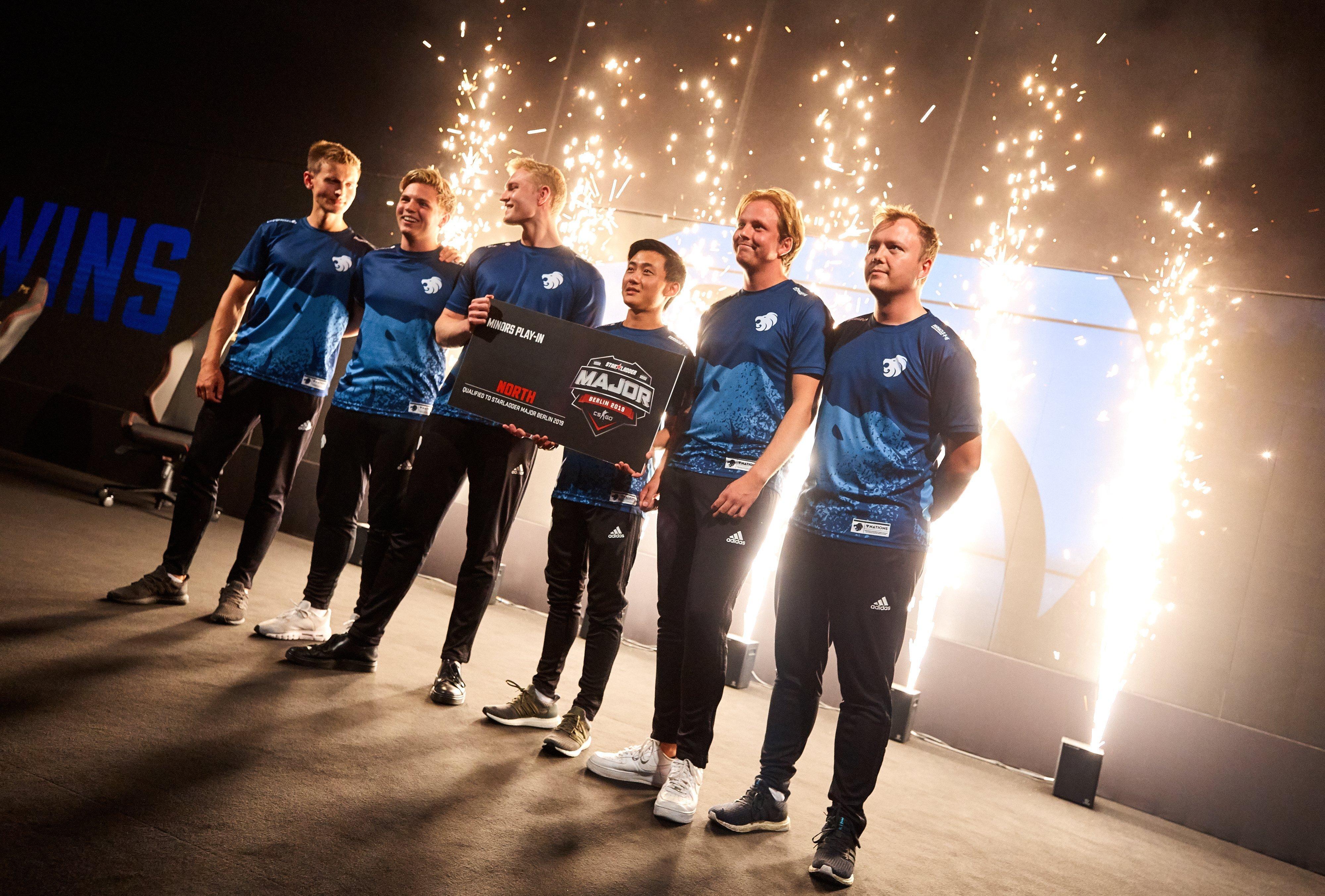 North book StarLadder Major Berlin 2019 ticket over MVP