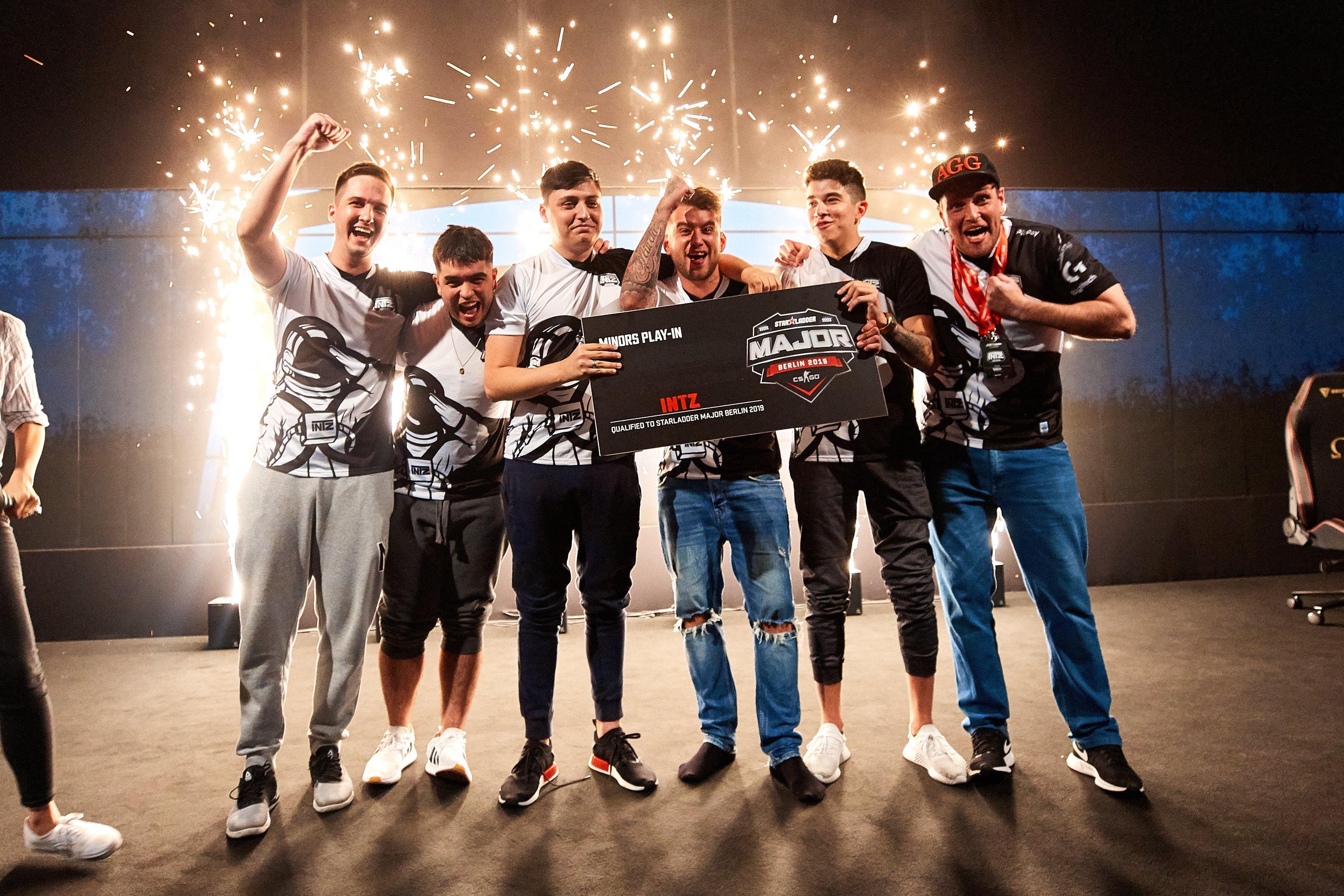 INTZ Esports поучаствует в StarLadder Major Berlin 2019