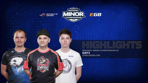 Minor: Лучшие моменты первого дня Play-off