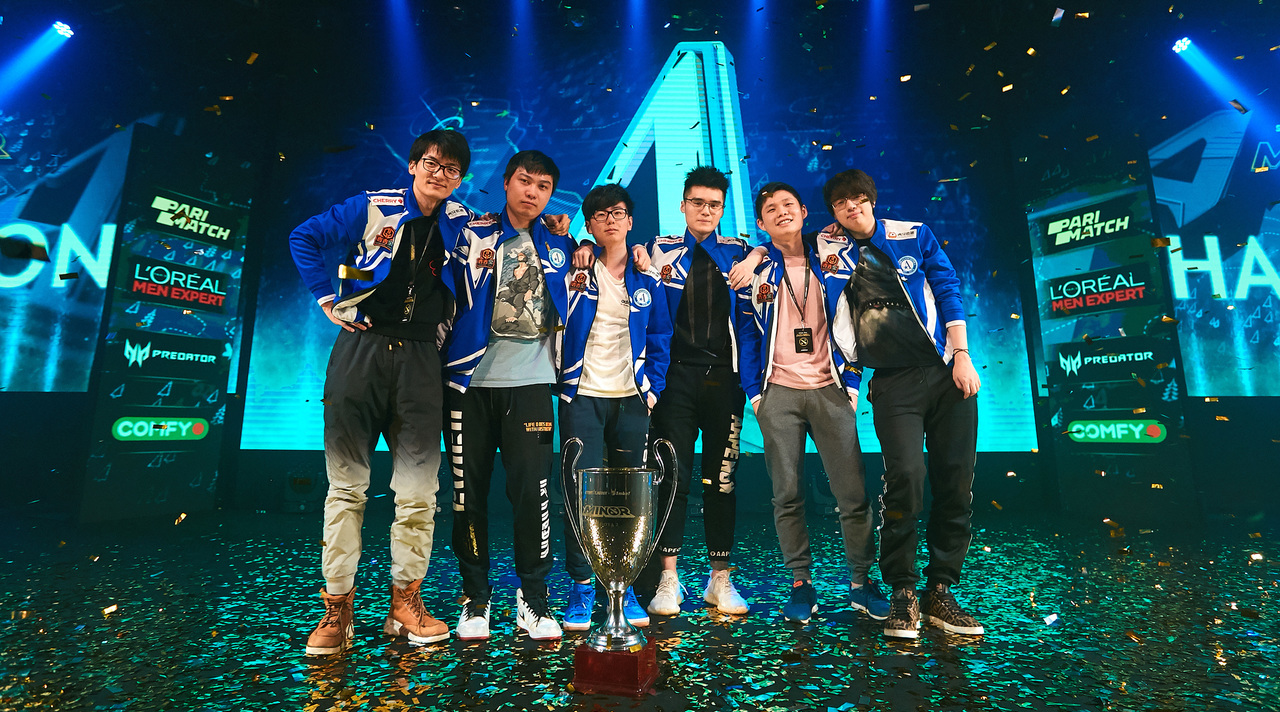 Team Aster became undefeated on StarLadder ImbaTV Dota 2 Minor