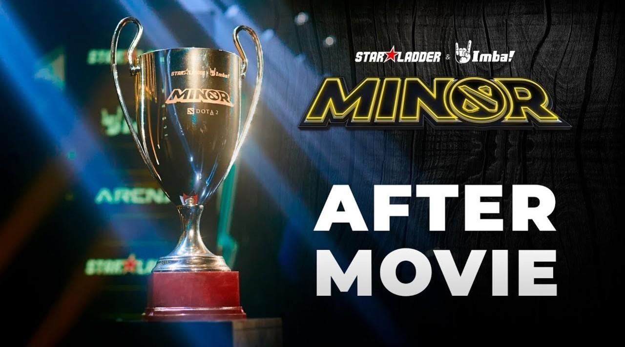 StarLadder ImbaTV Dota 2 Minor - Official Aftermovie