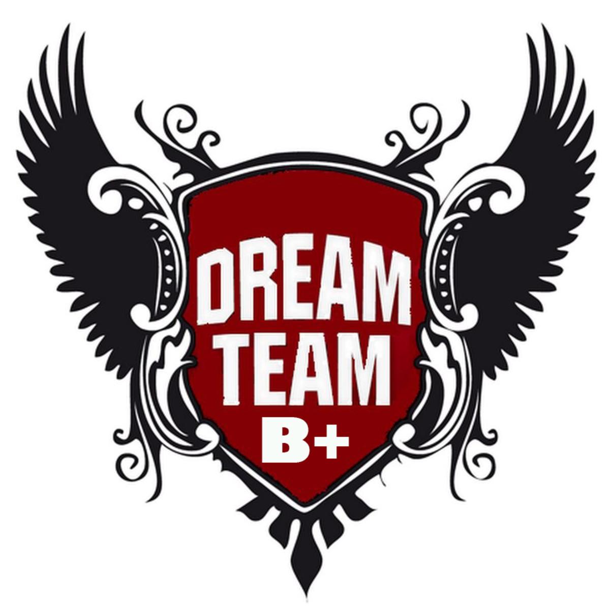 Фото с надписью команда мечты, открытка