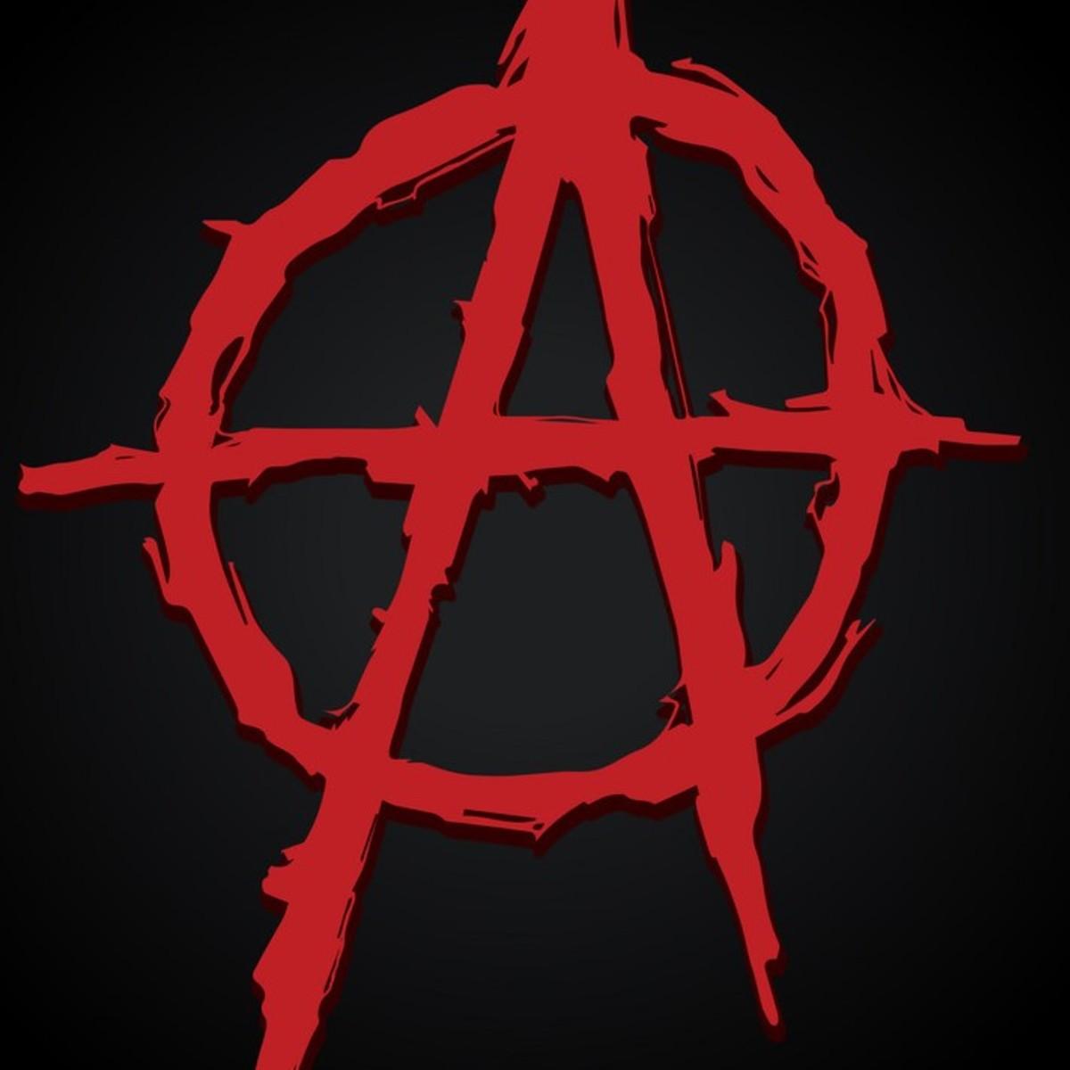 Символ анархии картинки