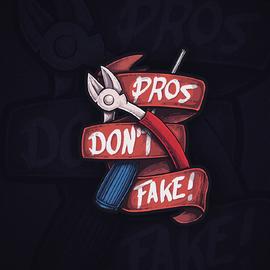 Pros Don't Fake