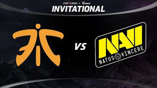 Fnatic vs Natus Vincere Game 2 - SL ImbaTV Invitational Season 5: Group Stage - @Lyrical @WinteR
