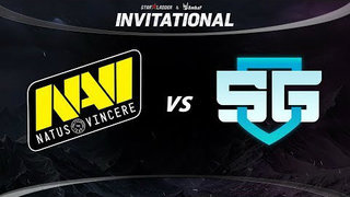 Natus Vincere vs SG Game 1 - SL ImbaTV Invitational Season 5: Group Stage - @Lyrical @WinteR