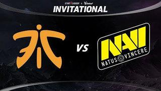 Fnatic vs Natus Vincere Game 1 - SL ImbaTV Invitational Season 5: Group Stage - @Lyrical @Lacoste