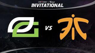 OpTic vs Fnatic Game 1 - SL ImbaTV Invitational Season 5: Semifinals - @ODPixel @tsunami