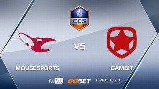 mousesports vs Gambit, ECS Season 5 Europe