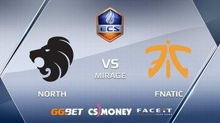 ECS Season 6 fnatic vs North, Virtus.pro vs North