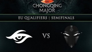 Secret vs TFT Game 1 - Chongqing Major EU Qualifier: Group Stage w/ KillerPigeon, NahazDota