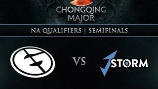 Evil Geniuses vs J.Storm Game 1 - Chongqing Major NA Qualifier: Semifinals w/ BreakyCPK, Elevated