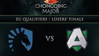 Liquid vs Alliance Game 1 - Chongqing Major EU Qual: Losers Finals - ODPixel, Lacoste, Sheever, Kyle