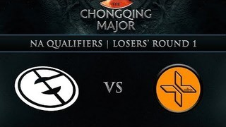 Evil Geniuses vs Plus Ultra G1 - Chongqing Major NA Qualifier: Losers Round 1 w/ Grant, Cap & Blitz