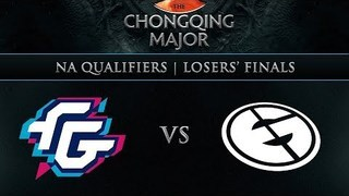 Forward Gaming vs Evil Geniuses Game 2 - Chongqing Major NA Qualifier: Losers' Finals