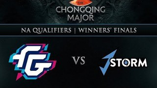 Forward Gaming vs J.Storm Game 1 - Chongqing Major NA Qualifier: Winners' Finals - Breaky & Elevated